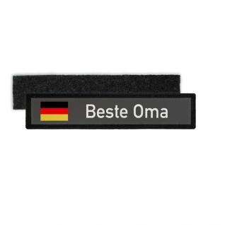 Patch Namensschild Beste Oma Deutschlands Großmutter Geschenk Enkel #30902