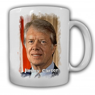 Tasse Präsident Jimmy Carter 39 Präsident Amerika America USA Kaffee #14138