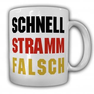 Tasse schnell stramm falsch BRD Deutschland No Politik Regierung typisch #24131