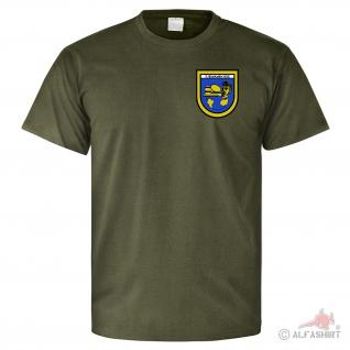 7 EloKaBtl 392 Abzeichen Wappen Kompanie Kampfführung Bataillon - T Shirt #25755