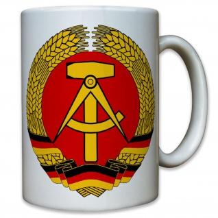 DDR Wappen Deutsche Demokratische Republik Ostdeutschland Deutschland Tasse#9508