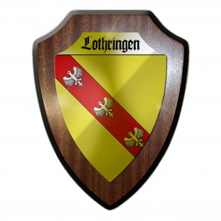 Wappenschild Lothringen Lorraine Frankreich Deutschland Wappen Abzeichen #24323