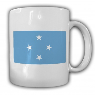 Föderierte Staaten von Mikronesien Fahne Flagge Kaffee Tasse #13801