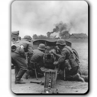 Pak im Fronteinsatz Panzerabwehrkanone Deutschland Schuss Kanone Mauspad #13786