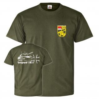 Panzerbataillon 354 Hammelburg Leo 1 A3 Leopard Panzer T Shirt #26134