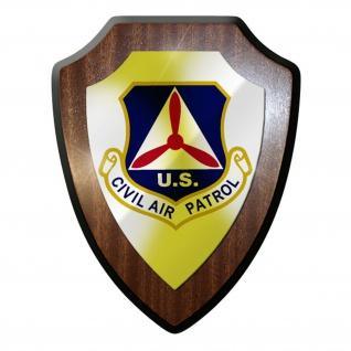 Wappenschild / Wandschild / Wappen - US United States Civil Air Patrol USA #8816