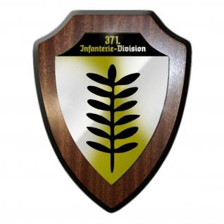 Wappenschild 371 Infanterie Division Wappen Abzeichen InfDiv Ehrenwappen #15154