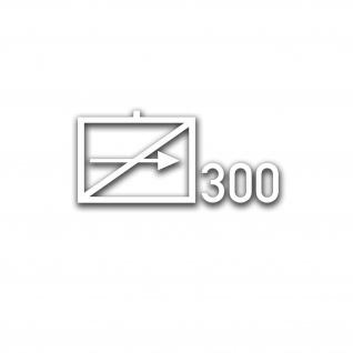Aufkleber/Sticker Taktisches Zeichen FSK 300 Fernspäh Kompanie 14x30cm A5079