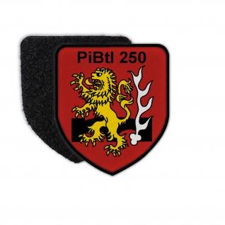 Patch PiBtl 250 Pionier-Bataillon Bundeswehr Wappen Abzeichen Aufnäher #33614