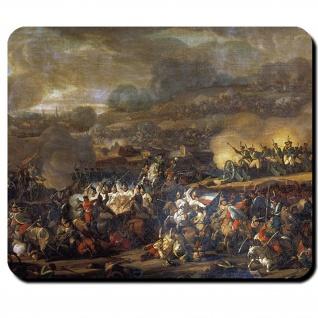 Völkerschlacht bei Leipzig Gemälde Jahr 1815 Frankreich Preußen Mausepad #16175