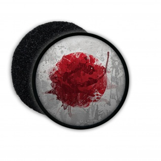 Patch Japan Rising sun Japanisch Tokio Staat Inselstaat Wappen Aufnäher #20810