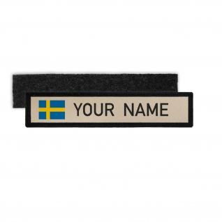Schweden Flagge Land Konungariket Sverige Königreich Patch Schild #25354