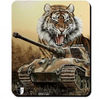 Mauspad Lukas Wirp Königstiger Tiger II Panzer Köti Panzerkampfwagen #23472