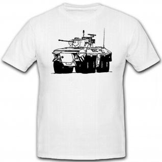 Spähpanzer 2 SpPz Luchs-Bundeswehr Panzeraufklärer - T Shirt #12480