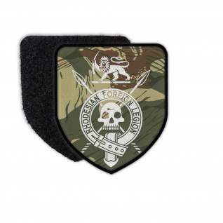 Rhodesian Foreign Legion Abzeichen Busch Camo Patch Wappen #34295