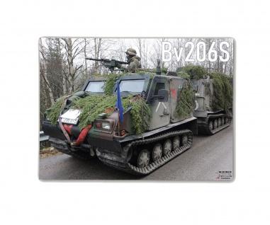 Poster M&N Pictures Bv206S Bundeswehr Bandvagn Hägglund Heer ab30x22cm#30276