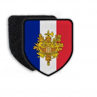 Patch Flag of France Frankreich Land Flagge Nation Wappen Aufnäher #21360