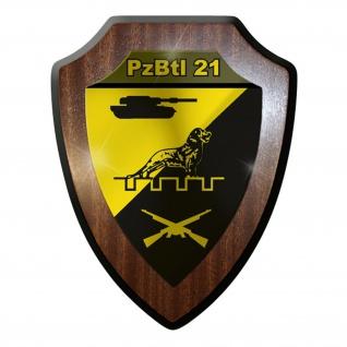 Wappenschild PzBtl 21 Panzerbataillon Panzer Bataillon Leopard Bundeswehr #9330W