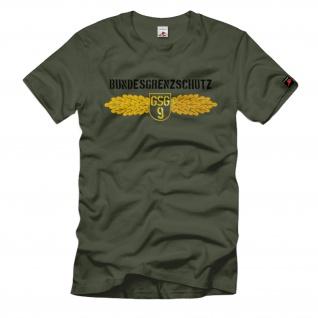 Bundesgrenzschutz Zoll Deutschland Bundespolizei Bgs Uniform T Shirt #1456
