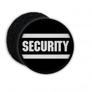 Patch Klett Flausch Sicherheitsdienst Schützer Schutz Firma Objektschutz #22504
