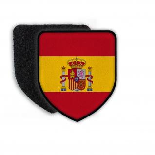 Patch Landeswappenpatch Spanien Madrid Fussball König Felipe Wappen #21972