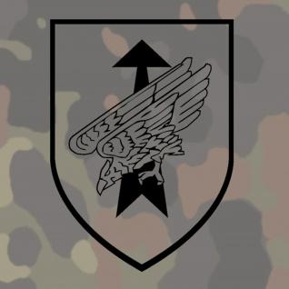 Aufkleber 1 KdoKp KSK Kommandokompanie BW Bundeswehr - 15x13cm #A219