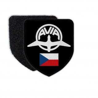Patch Avia CZ Tschechoslowakei Flugzeug Wappen Fabrik Hersteller Logo #32905