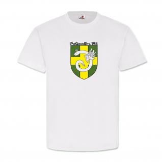 PzGrenBtl 192 Panzer Grenadier Bataillon Wappen Abzeichen Heer - T Shirt #4757