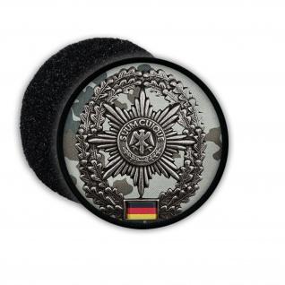 Patch Feldjäger FJg Barett Abzeichen Einheit Bundeswehr Aufnäher Tarnung #20877