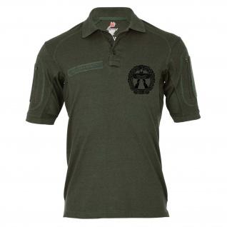 Tactical Poloshirt Alfa Barettabzeichen Objektschutz Luftwaffensicherung #24311