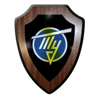 Wappenschild / Wandschild -Tupolev Logo Wappen Russischer #9831
