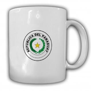 Republik Paraguay Wappen Emblem Kaffee Becher Tasse #13858