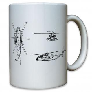 Sikorsky CH-53 Sea Stallion Hubschrauber Helicopter Transport - Tasse #11578