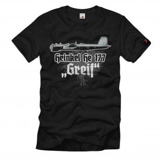 He 177 Greif Luftwaffe Heinkel-Bomber Flugzeug T-Shirt#1871