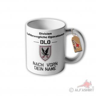 Tasse DLO Division Luftbewegliche Operationen Nach vorn Wappen Abzeichen #30442