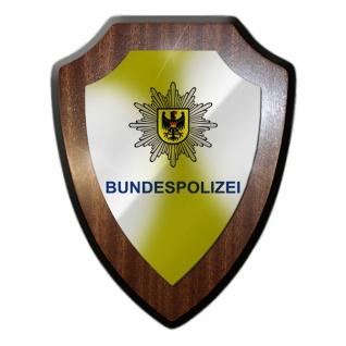 Wappenschild - Bundespolizei Bundesgrenzschutz BGS Drogenkontrolle GSG9 #10018