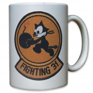 US United States Navy Fighting 31 VFA-31 Tomcatters Cat Katze - Tasse #11780