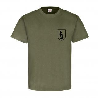 Gebirgsjäger Gams Alpen Bundeswehr Wappen Abzeichen Steinbock T Shirt #15211