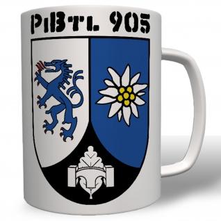 PzBtl 905 Panzerbataillon Edelweiß Panzer Bataillon Wappen Abzeichen - #5589