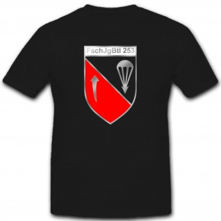 Fschjgbtl 253 Fallschirmjägerbataillon Militär Bundeswehr Einheit T Shirt #2651