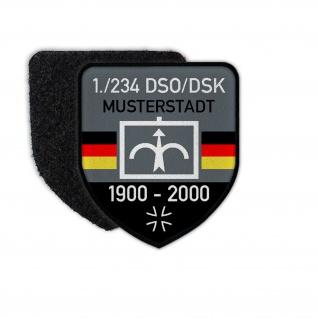 Patch BW DSO-DSK Dienstzeit Bundeswehr Abzeichen Einheit Aufnäher #27422
