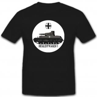 Militär Wh Fahrzeug Geschütz Einheit Wk Begleitwagen 1 - T Shirt #2334