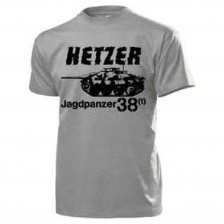 Hetzer Jagdpanzer 38t Panzer Panzerjäger Deutschland - T Shirt #13204