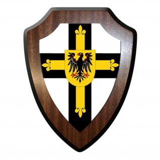 Wappenschild/Wandschild/Wappen - Deutscher Orden Ritterorden #8577