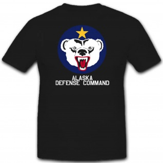 Alaska Defense Command Einheit Militär Kommando Wk T Shirt #3078