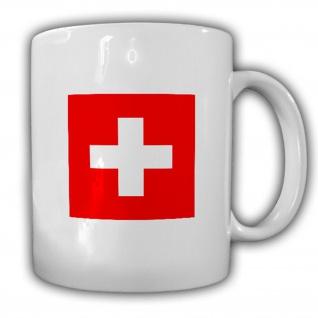 Schweiz Fahne Eidgenossenschaft Flagge Kaffee Becher Tasse #13888