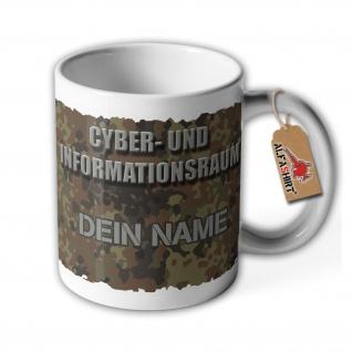 Tasse Cyber- und Informationsraum Soldat Personalisiert Bonn #35543