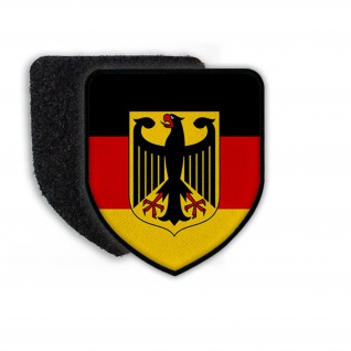 Patch Flag of Germany Deutschland Flagge Wappen Nation Republik Aufnäher #21361