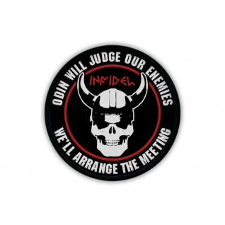 Patch / Aufnäher - INFIDEL ODIN WILL JUDGE OUR ENEMIES Wikinger Walhall #19528