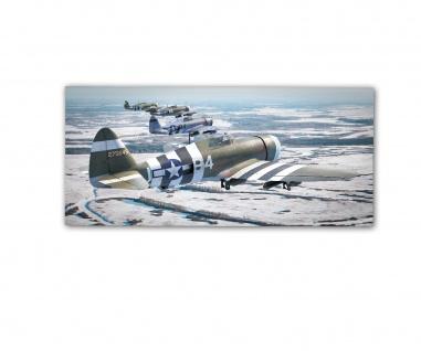 Poster rOEN911 Thunderbolt P47s The Madam 387th Squadron ab30x14cm#30708